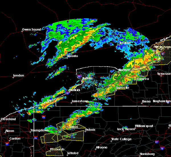 Radar Image for Severe Thunderstorms near Sodus, NY at 8/22/2017 2:06 PM EDT