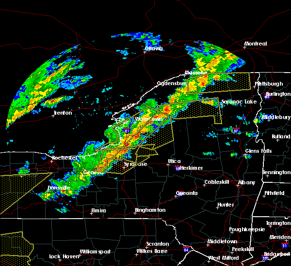 Radar Image for Severe Thunderstorms near Meridian, NY at 8/22/2017 2:56 PM EDT