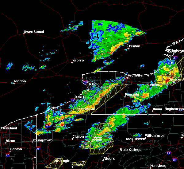 Radar Image for Severe Thunderstorms near Little Valley, NY at 8/22/2017 3:14 PM EDT
