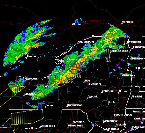 Radar Image for Severe Thunderstorms near Baldwinsville, NY at 8/22/2017 3:21 PM EDT