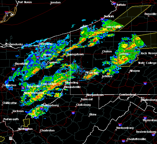 Radar Image for Severe Thunderstorms near Harwick, PA at 8/22/2017 3:21 PM EDT