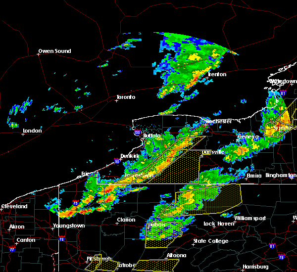 Radar Image for Severe Thunderstorms near Frewsburg, NY at 8/22/2017 3:30 PM EDT