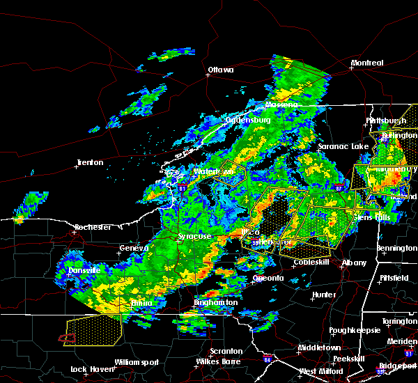 Radar Image for Severe Thunderstorms near Frankfort, NY at 8/22/2017 6:25 PM EDT