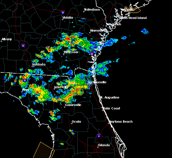 Radar Image for Severe Thunderstorms near Asbury Lake, FL at 8/24/2017 6:41 PM EDT