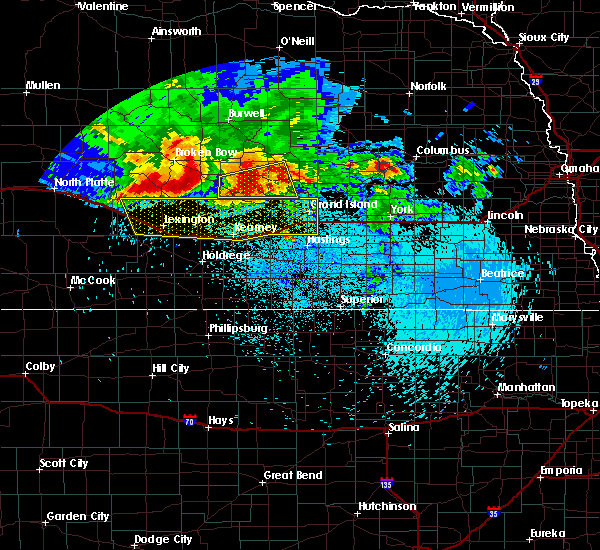 Radar Image for Severe Thunderstorms near Grand Island, NE at 8/27/2017 3:46 AM CDT
