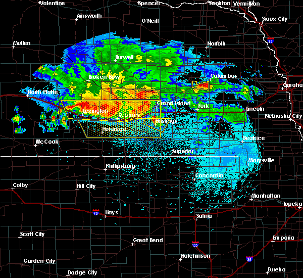 Radar Image for Severe Thunderstorms near Grand Island, NE at 8/27/2017 4:14 AM CDT