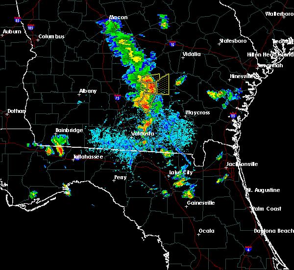 Radar Image for Severe Thunderstorms near Denton, GA at 8/30/2017 5:37 PM EDT