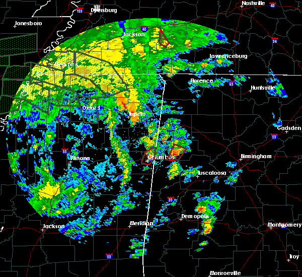 Radar Image for Severe Thunderstorms near Fayette, AL at 8/31/2017 4:05 PM CDT
