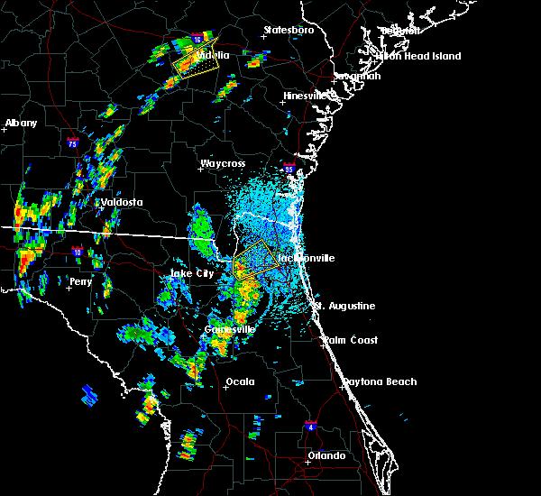 Radar Image for Severe Thunderstorms near Jacksonville, FL at 9/1/2017 1:26 PM EDT