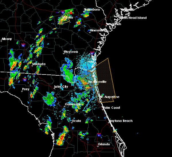 Radar Image for Severe Thunderstorms near Jacksonville, FL at 9/1/2017 1:56 PM EDT