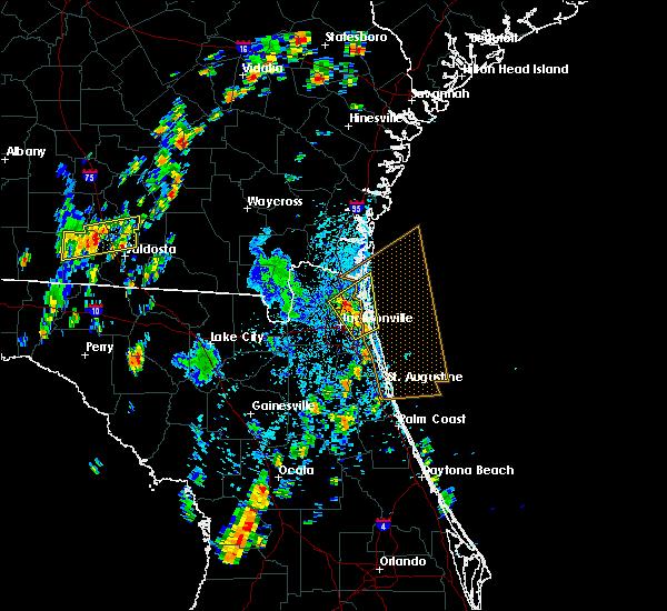 Radar Image for Severe Thunderstorms near Yulee, FL at 9/1/2017 2:18 PM EDT