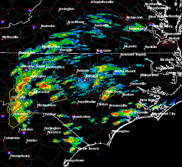 Radar Image for Severe Thunderstorms near Bennett, NC at 9/1/2017 3:08 PM EDT