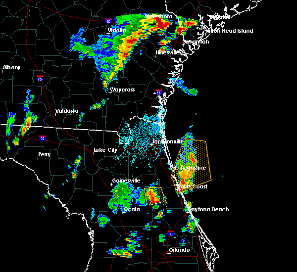 Radar Image for Severe Thunderstorms near Welaka, FL at 9/1/2017 4:16 PM EDT