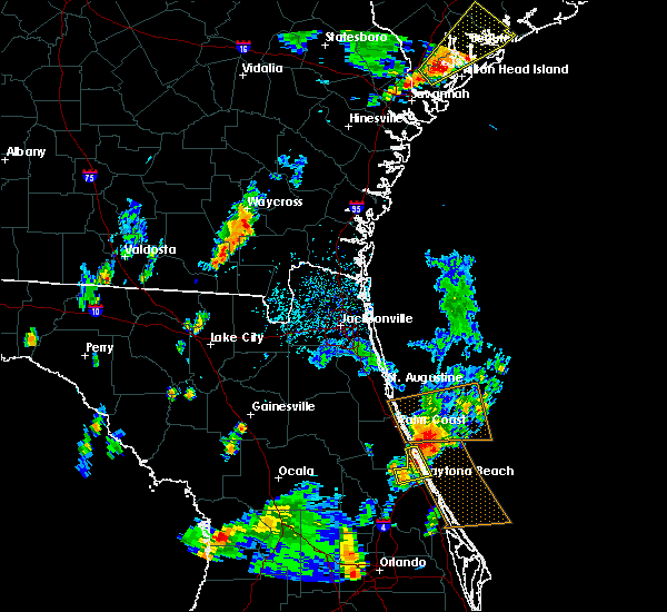 Radar Image for Severe Thunderstorms near Ormond Beach, FL at 9/1/2017 5:48 PM EDT