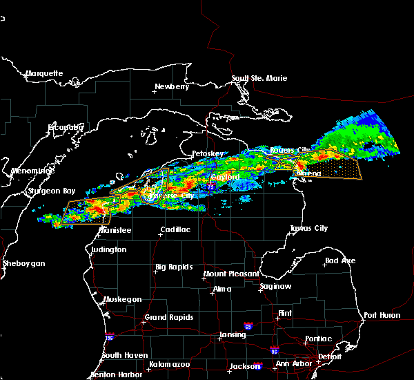 Radar Image for Severe Thunderstorms near Nessen City, MI at 9/4/2017 12:16 PM EDT