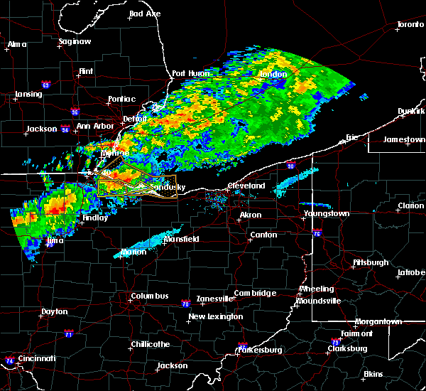 Radar Image for Severe Thunderstorms near Port Clinton, OH at 9/4/2017 7:55 PM EDT