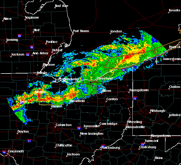 Radar Image for Severe Thunderstorms near Tiro, OH at 9/4/2017 9:53 PM EDT