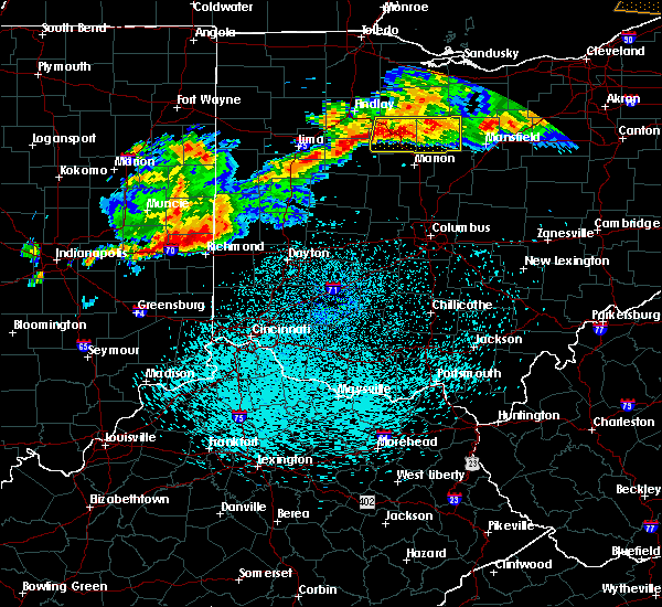Radar Image for Severe Thunderstorms near Whitewater, IN at 9/4/2017 10:17 PM EDT