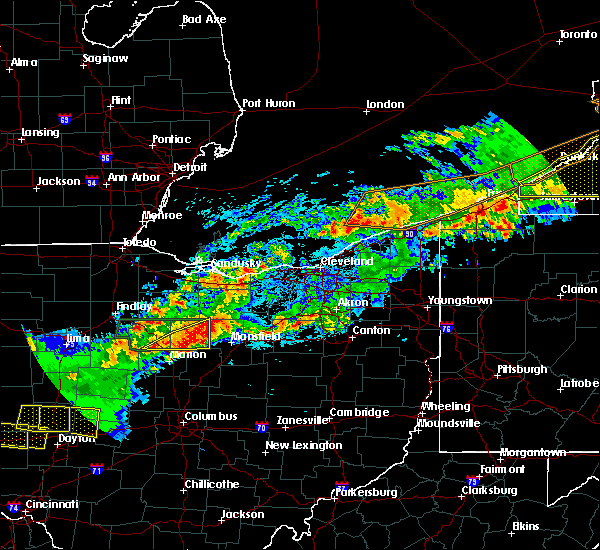 Radar Image for Severe Thunderstorms near Tiro, OH at 9/4/2017 10:47 PM EDT