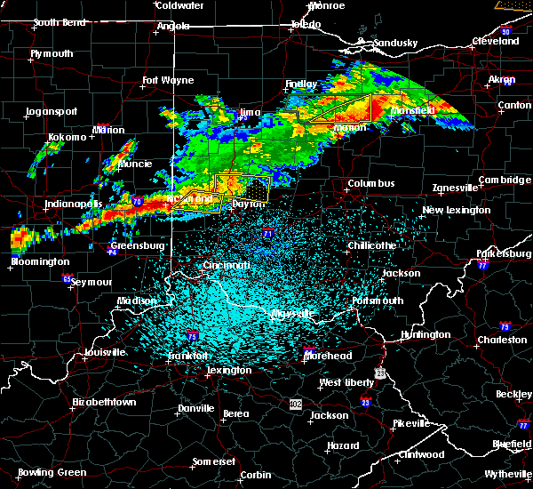 Radar Image for Severe Thunderstorms near Springfield, OH at 9/4/2017 10:59 PM EDT
