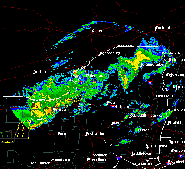 Radar Image for Severe Thunderstorms near Meridian, NY at 9/5/2017 12:34 AM EDT