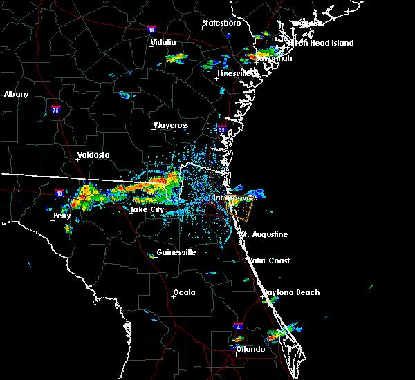 Radar Image for Severe Thunderstorms near Homeland, GA at 9/5/2017 3:57 PM EDT