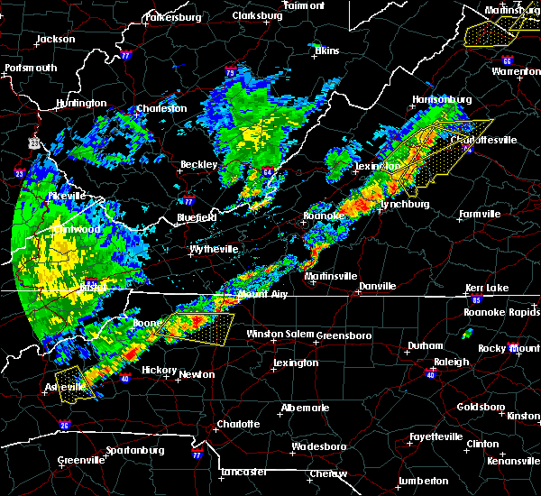 Radar Image for Severe Thunderstorms near Arrington, VA at 9/5/2017 4:15 PM EDT
