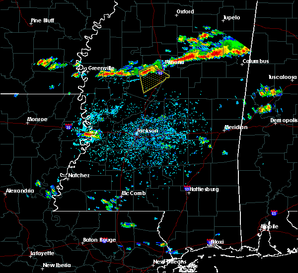 Radar Image for Severe Thunderstorms near Carrollton, MS at 9/5/2017 3:40 PM CDT