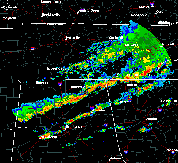 Radar Image for Severe Thunderstorms near Hollywood, AL at 9/5/2017 3:46 PM CDT