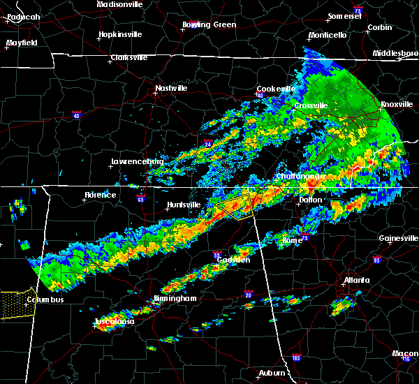 Radar Image for Severe Thunderstorms near Hollywood, AL at 9/5/2017 4:01 PM CDT