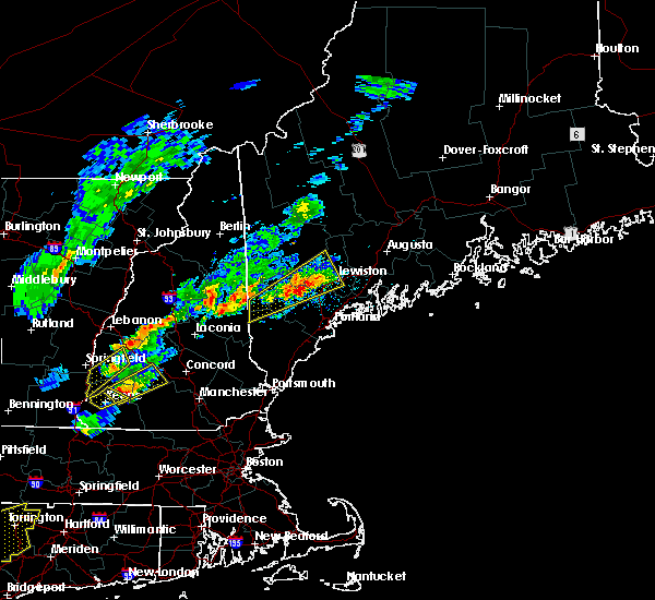 Radar Image for Severe Thunderstorms near Auburn, ME at 9/5/2017 5:11 PM EDT