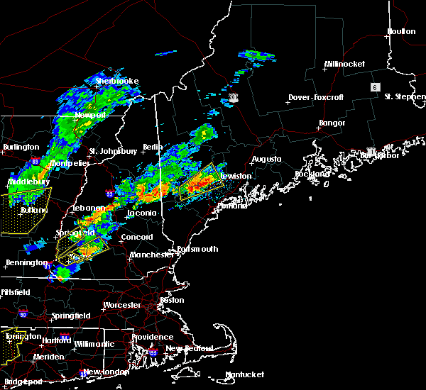 Radar Image for Severe Thunderstorms near Auburn, ME at 9/5/2017 5:20 PM EDT