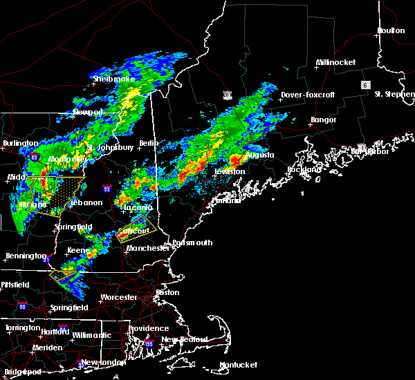 Radar Image for Severe Thunderstorms near Rochester, NH at 9/5/2017 6:13 PM EDT