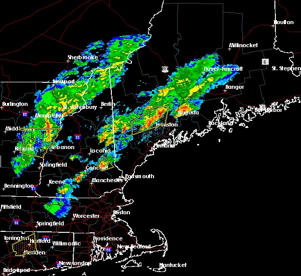 Radar Image for Severe Thunderstorms near Rochester, NH at 9/5/2017 6:40 PM EDT