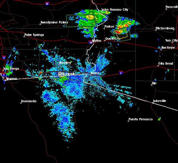 Radar Image for Severe Thunderstorms near Bouse, AZ at 9/8/2017 8:34 PM MST