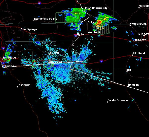 Radar Image for Severe Thunderstorms near Bouse, AZ at 9/8/2017 8:43 PM MST