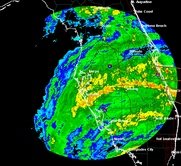 Radar Image for Severe Thunderstorms near Fort Green, FL at 9/10/2017 9:00 AM EDT