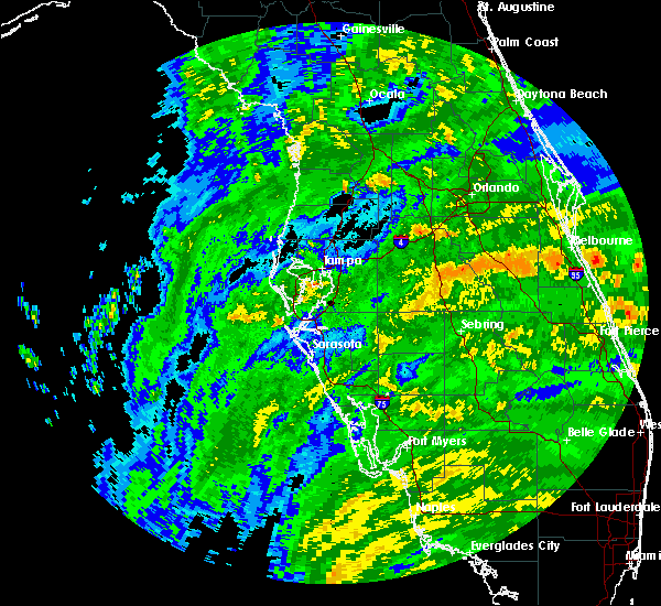 Radar Image for Severe Thunderstorms near Lakeland, FL at 9/10/2017 10:48 AM EDT