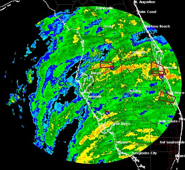 Radar Image for Severe Thunderstorms near Lakeland, FL at 9/10/2017 11:28 AM EDT