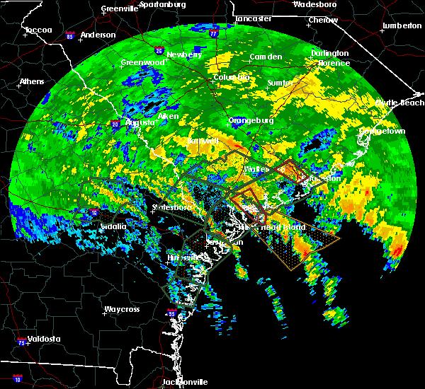 Radar Image for Severe Thunderstorms near Beaufort, SC at 9/11/2017 3:00 PM EDT