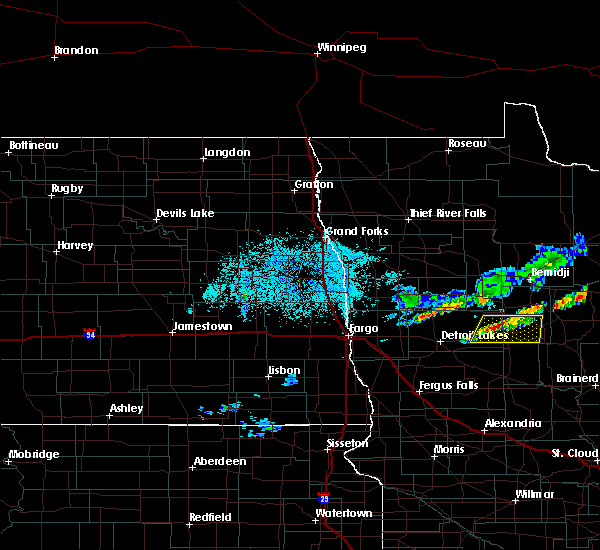 Radar Image for Severe Thunderstorms near Pine Point, MN at 9/14/2017 8:26 PM CDT