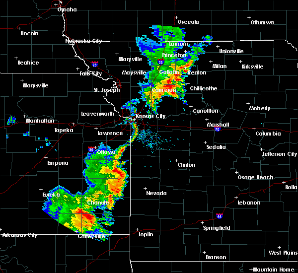Radar Image for Severe Thunderstorms near Adrian, MO at 9/16/2017 5:07 PM CDT