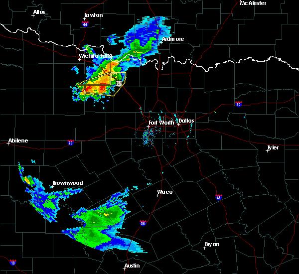 Radar Image for Severe Thunderstorms near Sunset, TX at 9/19/2017 7:22 PM CDT