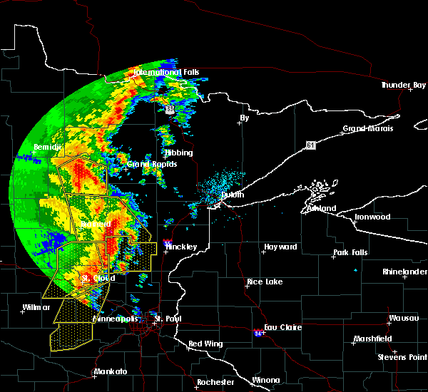 Radar Image for Severe Thunderstorms near Palisade, MN at 9/20/2017 2:03 AM CDT
