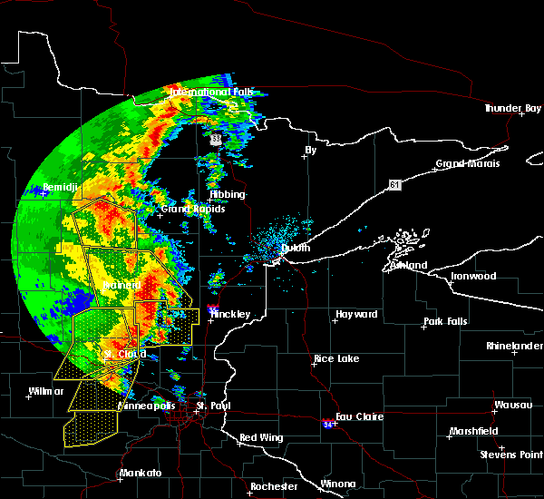 Radar Image for Severe Thunderstorms near Boy River, MN at 9/20/2017 2:06 AM CDT