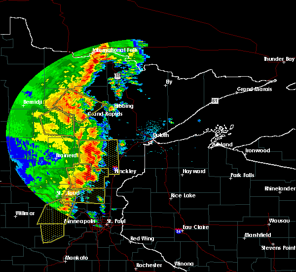 Radar Image for Severe Thunderstorms near Palisade, MN at 9/20/2017 2:18 AM CDT