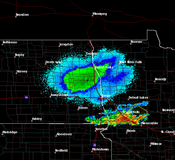 Radar Image for Severe Thunderstorms near Perham, MN at 9/22/2017 3:33 AM CDT