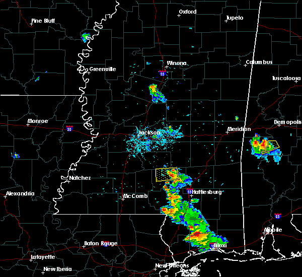 Radar Image for Severe Thunderstorms near Prentiss, MS at 9/23/2017 7:00 PM CDT