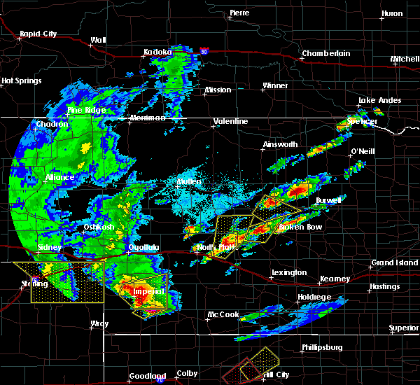 Radar Image for Severe Thunderstorms near Arnold, NE at 10/1/2017 5:58 PM CDT