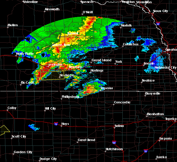Radar Image for Severe Thunderstorms near Funk, NE at 10/1/2017 9:03 PM CDT